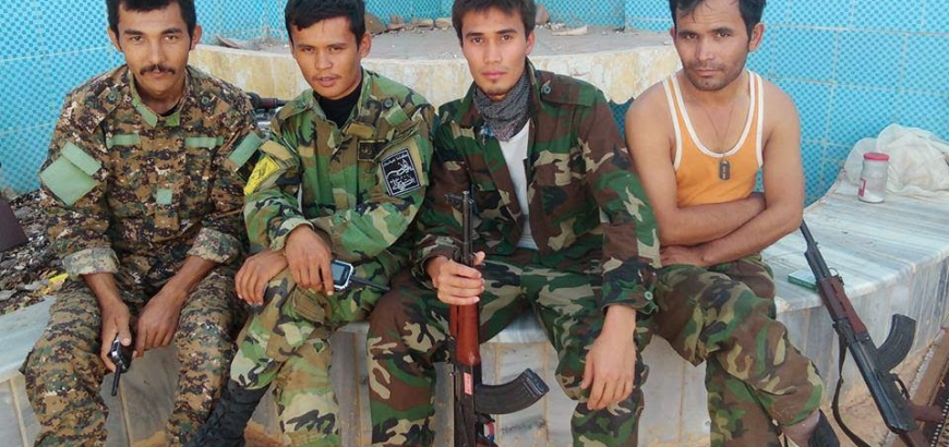 المرتزقة الأفغان