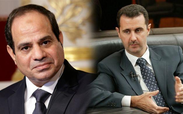 السيسي والأسد يجتمعان على كراهية مشتركة