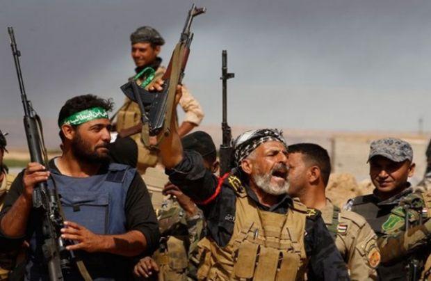 شيعة العراق يشتمون الصحابة ويحرقون جامع المثنى الكبير