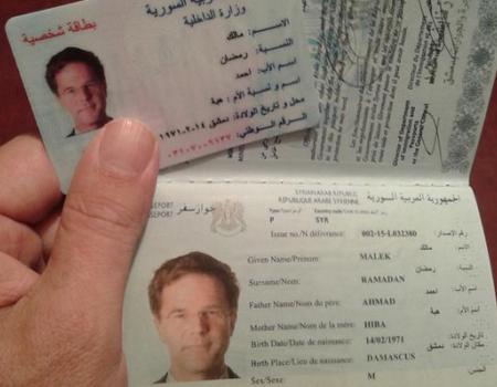 جواز سفر مزور لرئيس وزراء هولندا