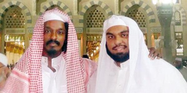 الشيخ صلاح البدير مع المطرب الكندي الشهير