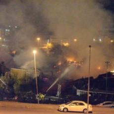 حريق شب داخل فندق في مكة