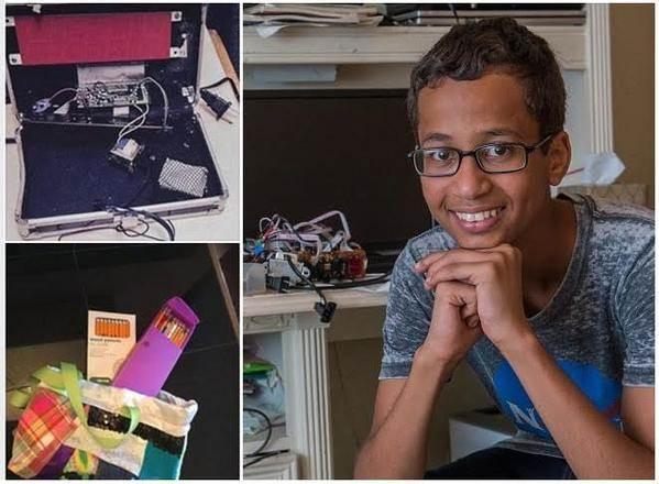 الطفل المسلم أحمد محمد