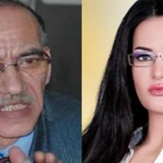 الفنانة الاستعراضية سما المصري والنائب السابق عن الدائرة والحزب الوطني المُنحل حيدر بغدادي