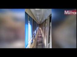 بالفيديو.. هل تسكن العفاريت هذا القطار؟