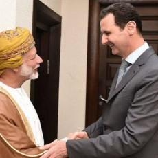 الأسد والعلوي في لقاء بدمشق