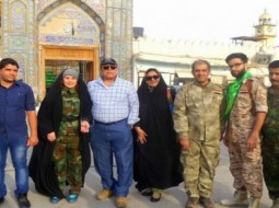 حنان شوقي وممثلون مصريون مع المليشيات في العراق