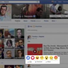 زر عدم الإعجاب في فيسبوك