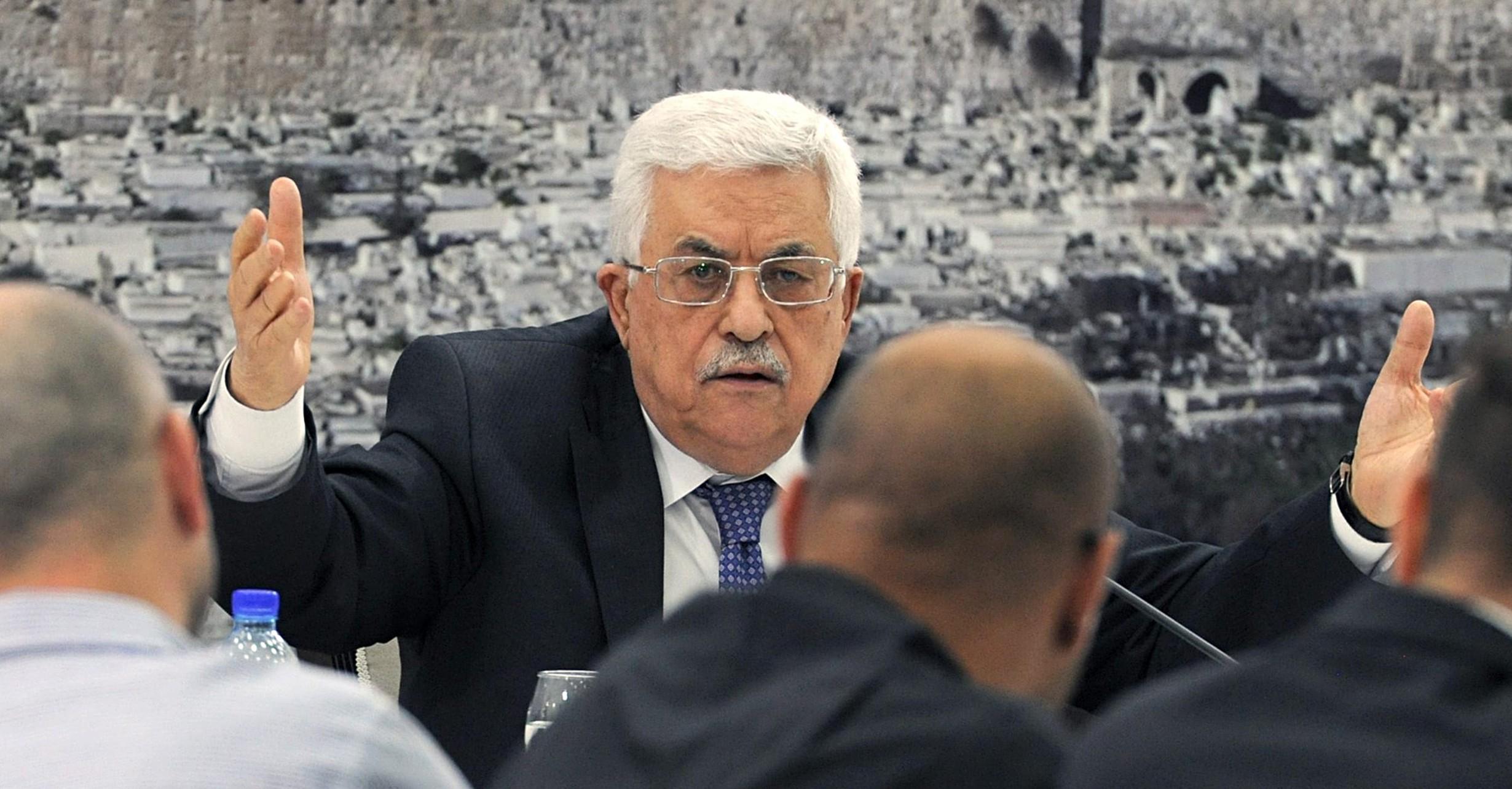 اجتماع اللجنة المركزية لحركة فتح