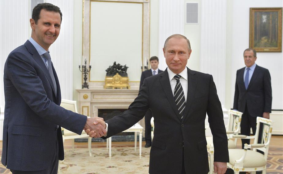 الأسد وبوتين