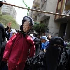 تظاهرة لأنصار الإخوان المسلمين