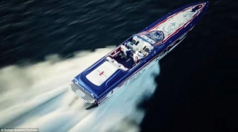 قارب السلطان ابراهيم اسماعيل