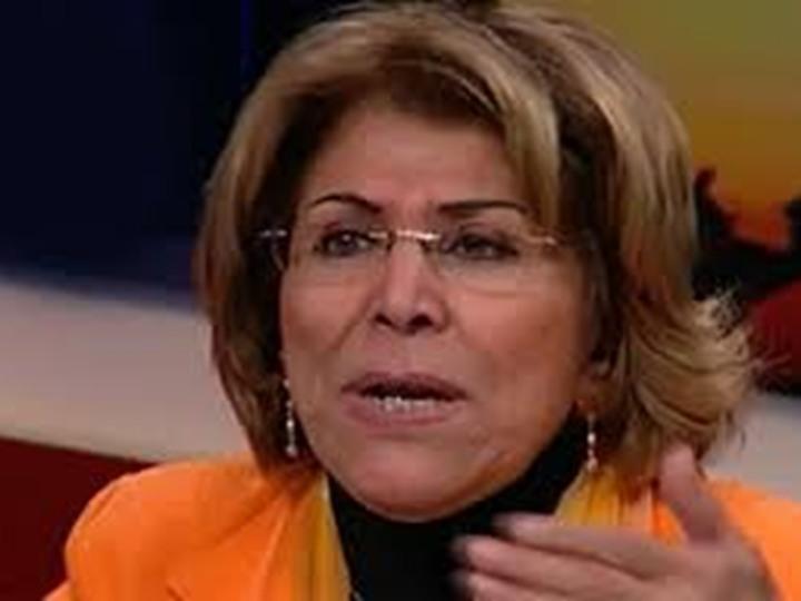 الكاتبة المصرية فريدة الشوباشي