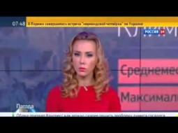 """بالفيديو.. هذه الشقراء تطل كل يوم """"لتحبب"""" الروس بالغارات الجوية على سوريا!!"""