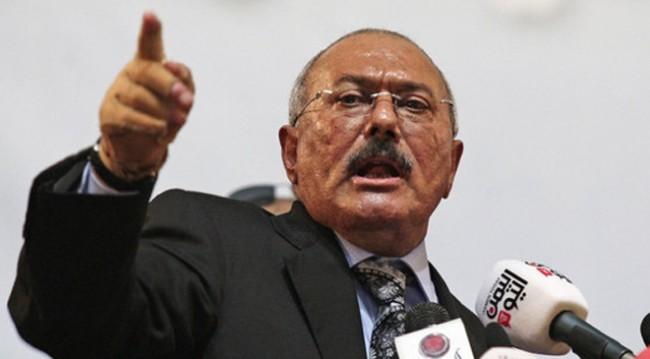 الرئيس اليمني المخلوع علي عبد الله صالح