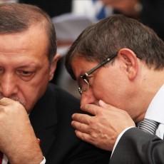 اردوغان وأوغلو