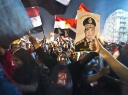 تظاهرة مؤيدة للرئيس المصري