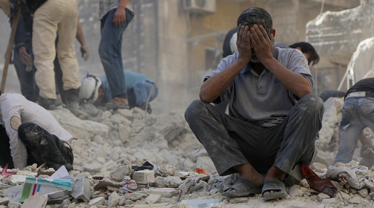 ضحايا سوريين