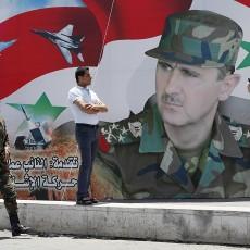جدارية بشار الأسد