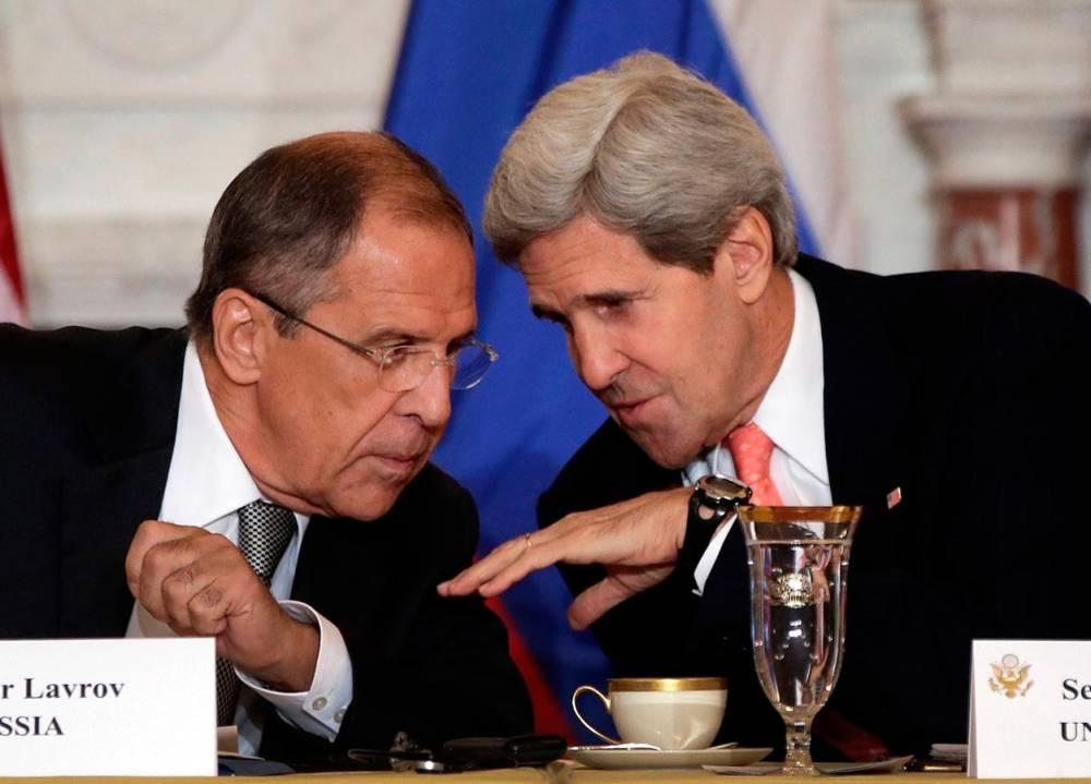 وزيرا خارجية أمريكا وروسيا