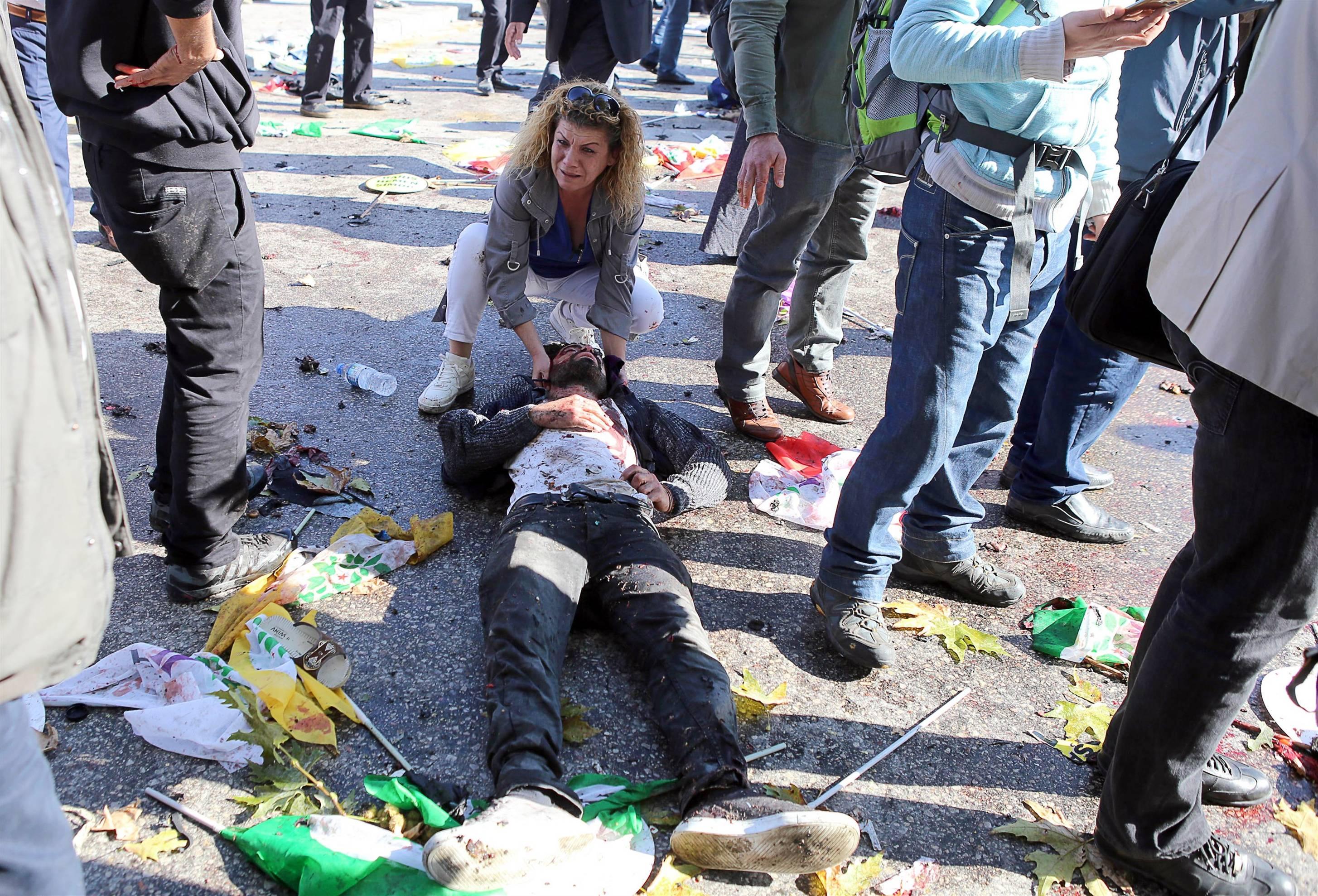 ضحايا تفجيري أنقرة