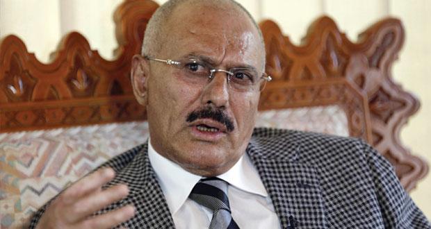 الرئيس اليمني المخلوع