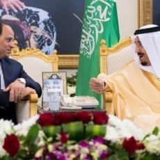 الملك سلمان مع الرئيس السيسي
