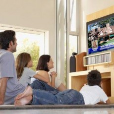 مشاهدة التلفاز