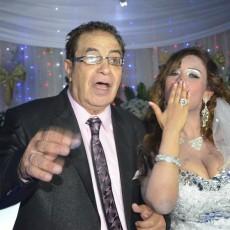 سعيد طرابيك وزوجته الجديدة