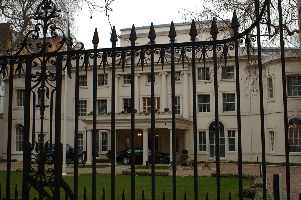 السفارة السعودية بلندن