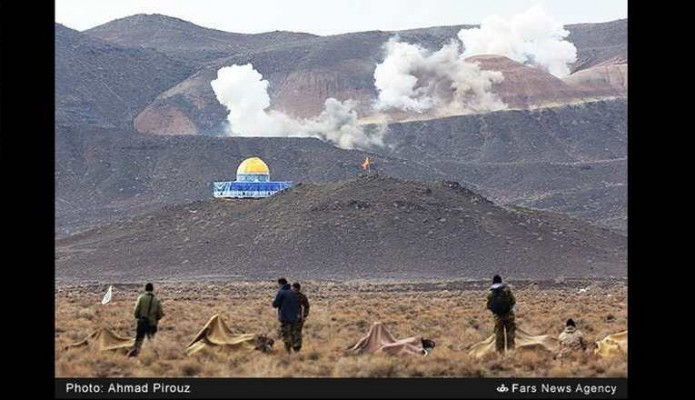مناورات الحرس الثوري الإيراني