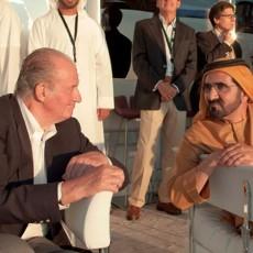 محمد بن راشد وملك أسبانيا