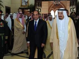 العاهل السعودي والرئيس المصري