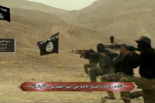 عناصر مسلحة في سيناء