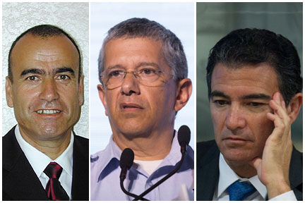 قادة في الجيش الإسرائيلي