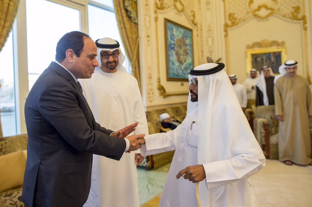 السيسي في الإمارات