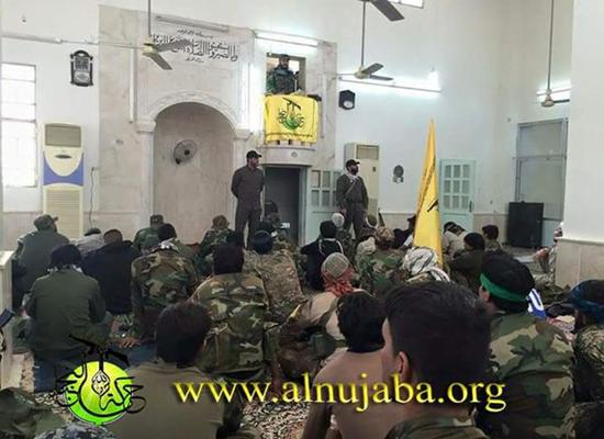 شيعة ايران في مساجد حلب