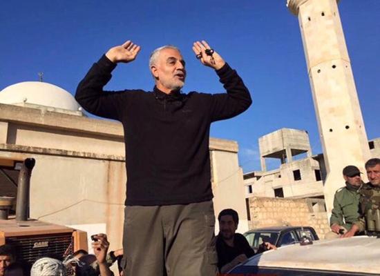 قاسم سليماني في حلب