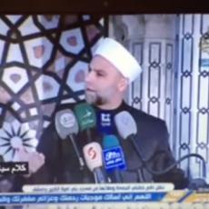 خطيب المسجد الأموي مأمون رحمة
