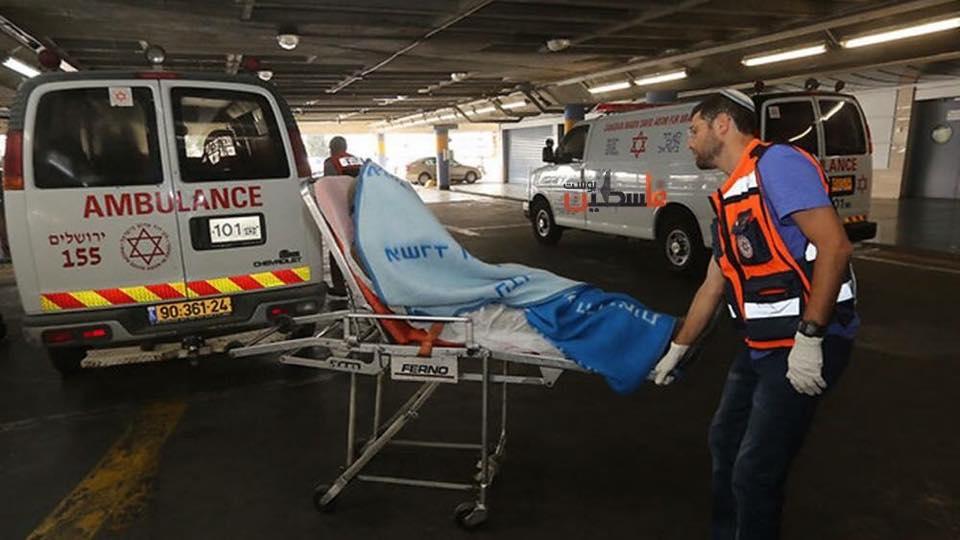اصابات في إسرائيل