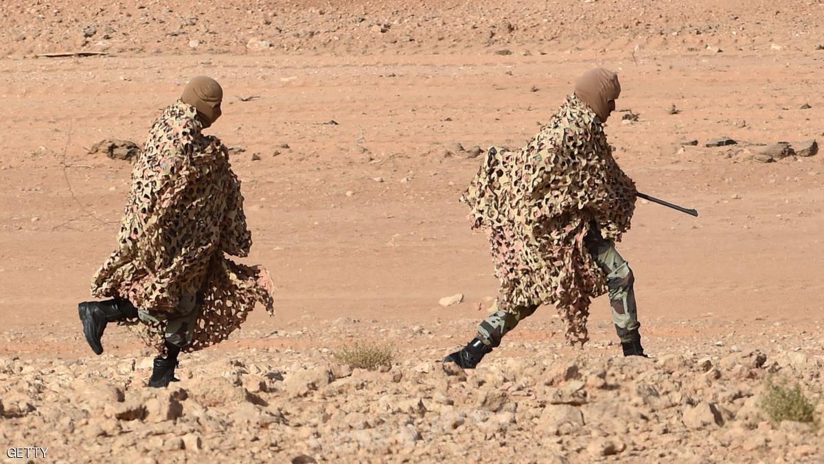 جنود من قوات عربية