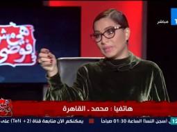 بالفيديو: متصل يهاجم مذيعة مصرية بسبب خلع زوجته للحجاب بسببها