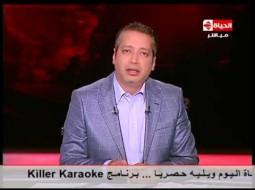 """بالفيديو.. ألفاظ مثيرة للجدل من تامر أمين تعليقاً على رفع أردوغان لـ """"شارة رابعة"""""""