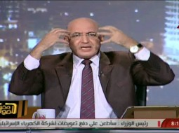 """بالفيديو.. إعلامي مصري يحرج عكاشة: انت بتخوف مين بالضبط نحن نريد إدارة """"تملى عيوننا"""""""