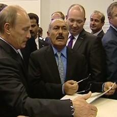 المخلوع صالح في السفارة الروسية