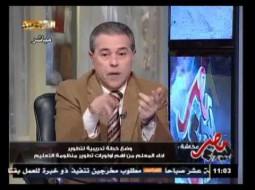 توفيق عكاشة فكر واقترح: علينا إنشاء مصنع لإنتاج البيض لتشغيل الشباب المصري