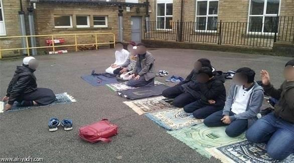 مسلمين في مدرسة بريطانية