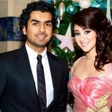 اسيل عمران وزوجها