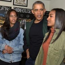 أوباما وعائلته