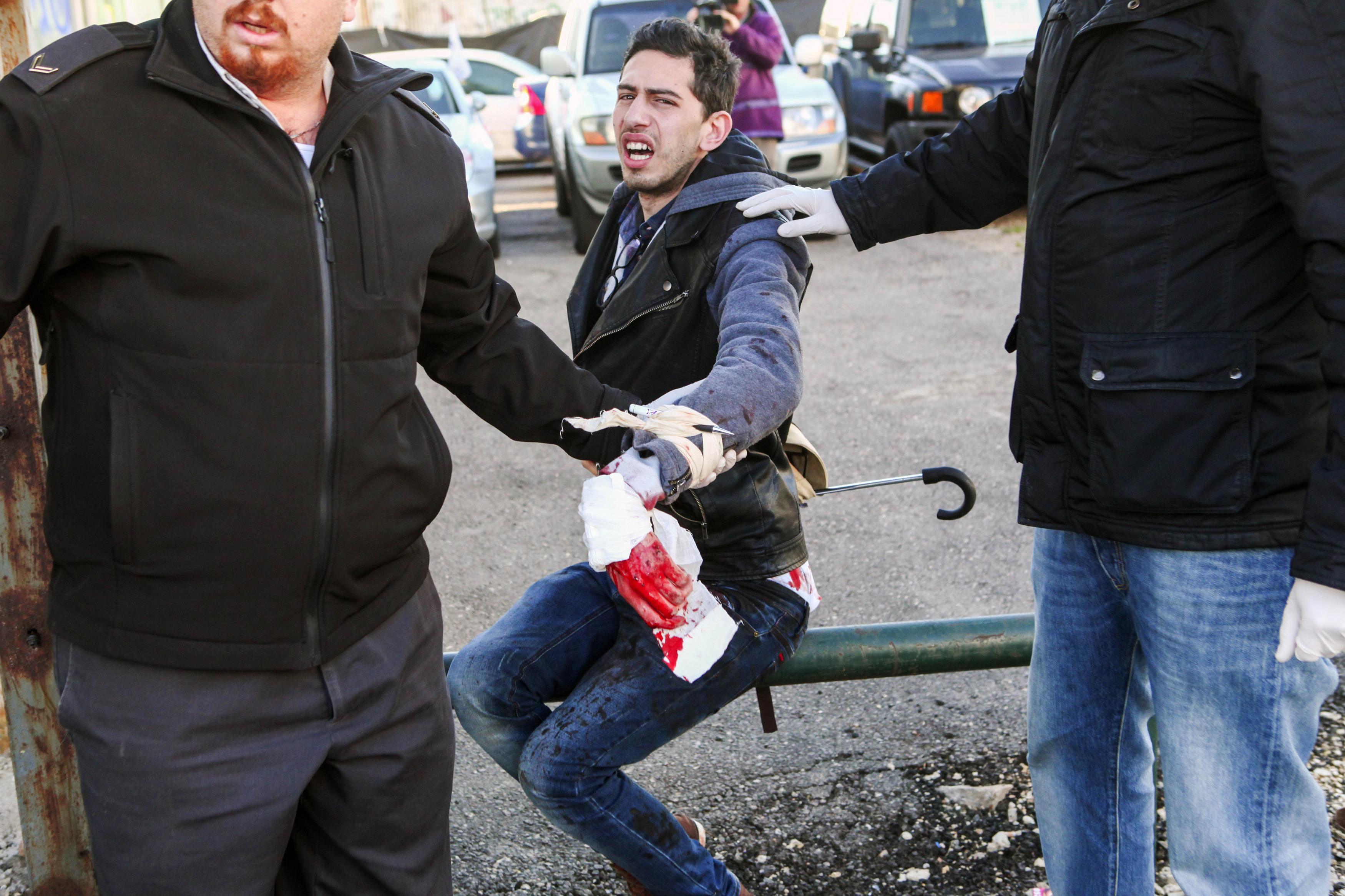 عملية طعن في إسرائيل